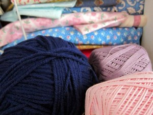 knitting crocheting yarn